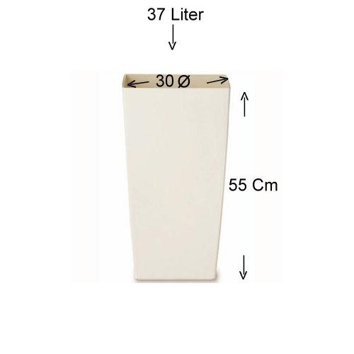 pflanzk bel elho milano 55 cm hoch 30 37 liter in. Black Bedroom Furniture Sets. Home Design Ideas